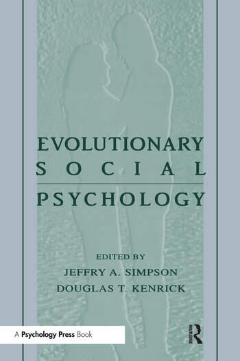 Evolutionary Social Psychology book cover