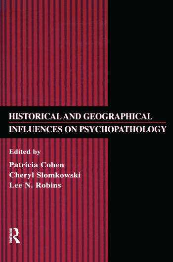 Historical and Geographical Influences on Psychopathology book cover