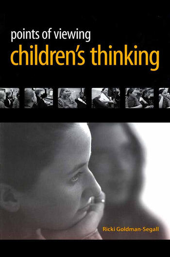 Points of Viewing Children's Thinking book cover