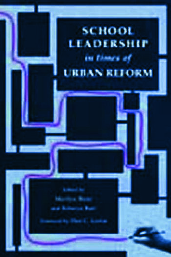 School Leadership in Times of Urban Reform book cover