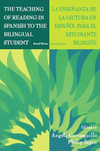 The Teaching of Reading in Spanish to the Bilingual Student: La Ense¤anza De La Lectura En Espa¤ol Para El Estudiante Biling e book cover