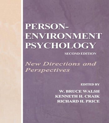 Person-Environment Psychology New Directions and Perspectives book cover