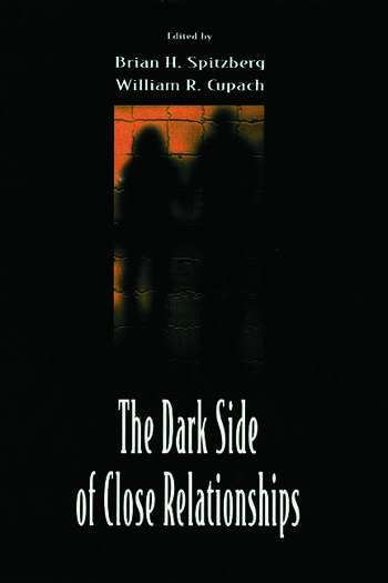 The Dark Side of Close Relationships book cover