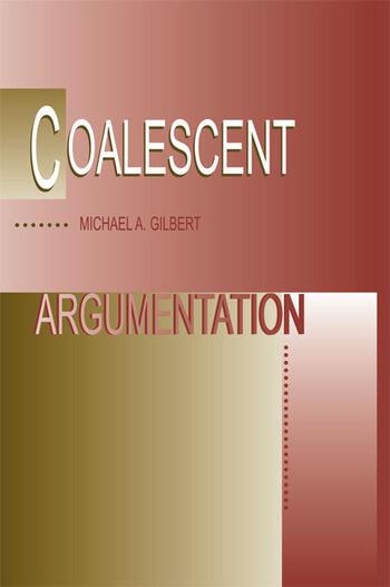 Coalescent Argumentation book cover