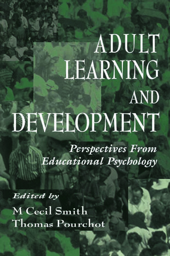 Adult Learning and Development Perspectives From Educational Psychology book cover