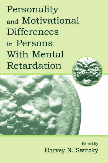 Personality and Motivational Differences in Persons With Mental Retardation book cover
