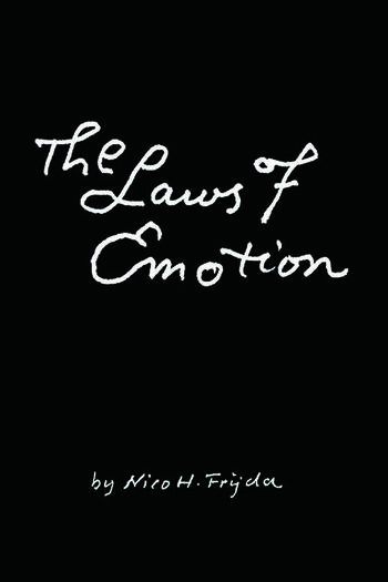The Laws of Emotion book cover