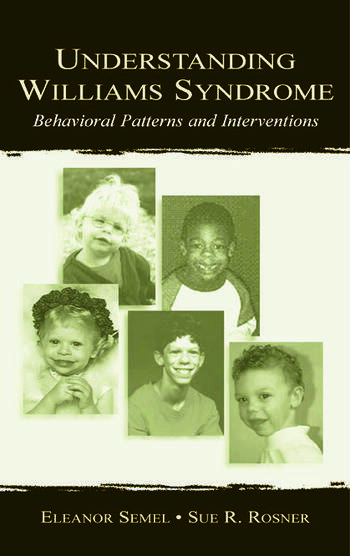 Understanding Williams Syndrome Behavioral Patterns and Interventions book cover