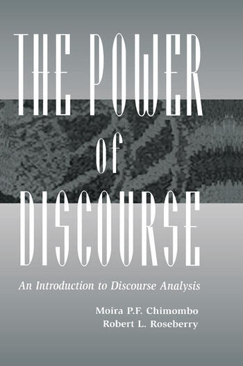 The Power of Discourse An Introduction To Discourse Analysis book cover