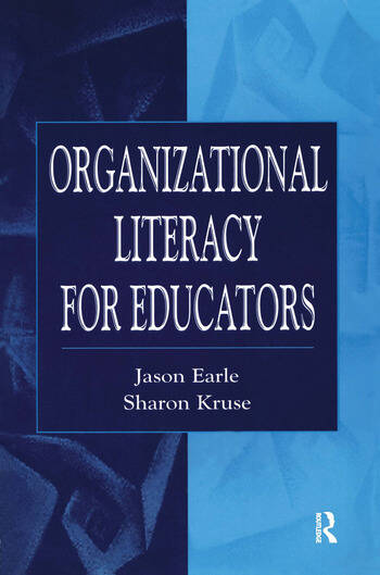 Organizational Literacy for Educators book cover