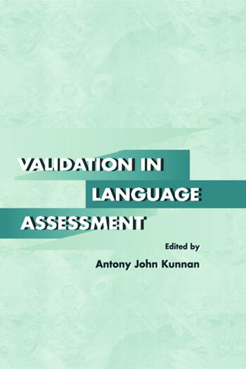Validation in Language Assessment book cover
