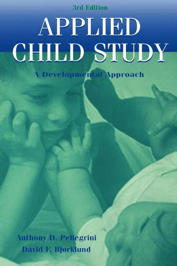 Applied Child Study A Developmental Approach book cover