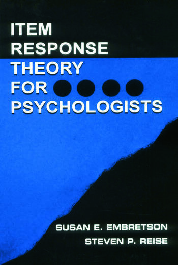 Item Response Theory book cover
