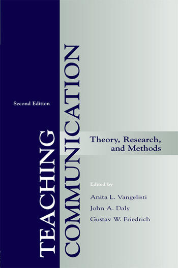 Teaching Communication Theory, Research, and Methods book cover