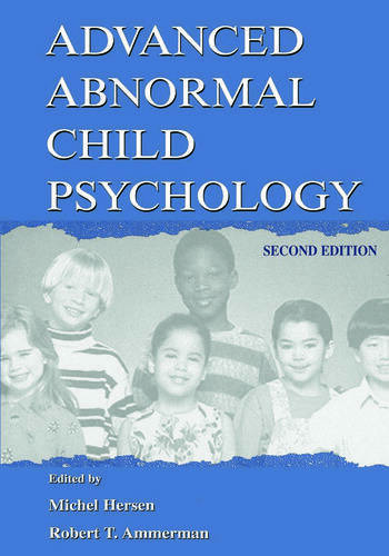 Advanced Abnormal Child Psychology book cover