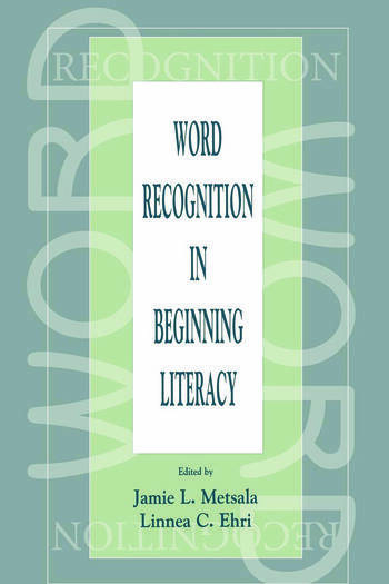 Word Recognition in Beginning Literacy book cover