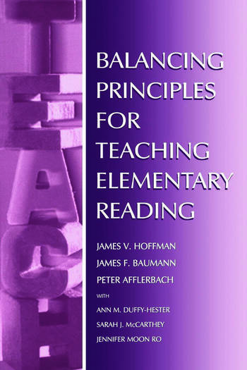 Balancing Principles for Teaching Elementary Reading book cover