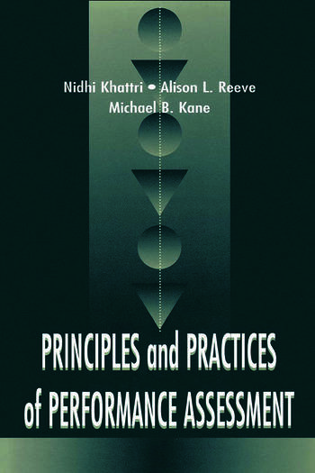 Principles and Practices of Performance Assessment book cover