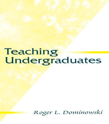 Teaching Undergraduates book cover