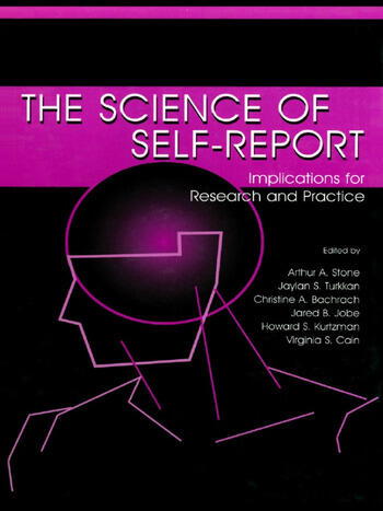The Science of Self-report Implications for Research and Practice book cover