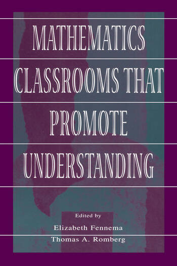 Mathematics Classrooms That Promote Understanding book cover