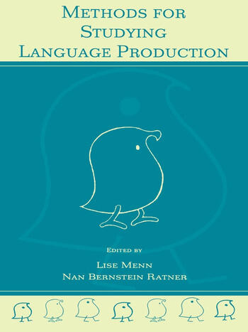 Methods for Studying Language Production book cover