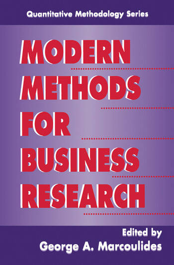 Modern Methods for Business Research book cover