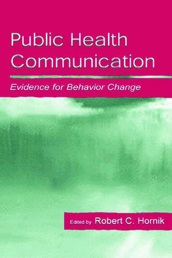 Public Health Communication Evidence for Behavior Change book cover