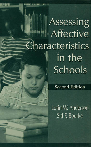 Assessing Affective Characteristics in the Schools book cover