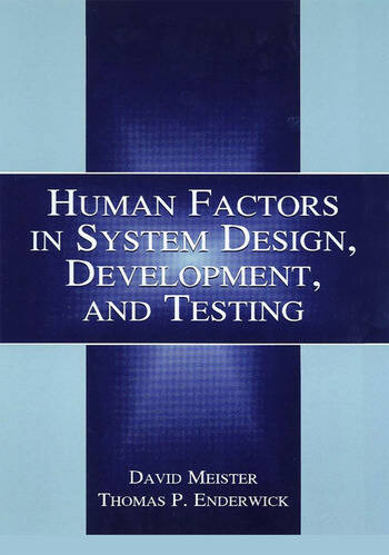 Human Factors in System Design, Development, and Testing book cover