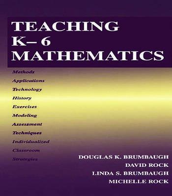 Teaching K-6 Mathematics book cover