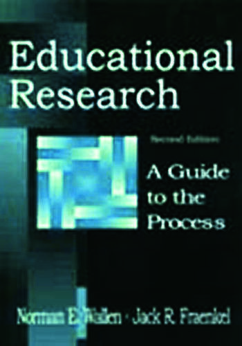 Educational Research A Guide To the Process book cover