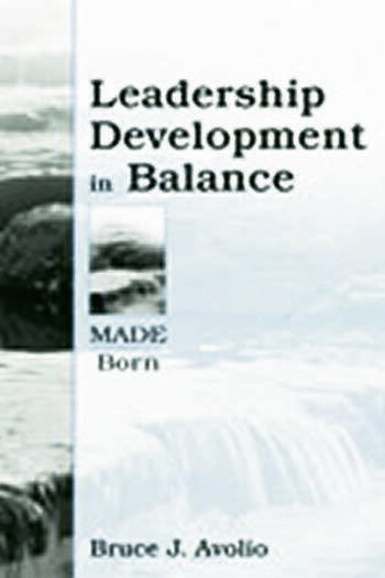 Leadership Development in Balance MADE/Born book cover