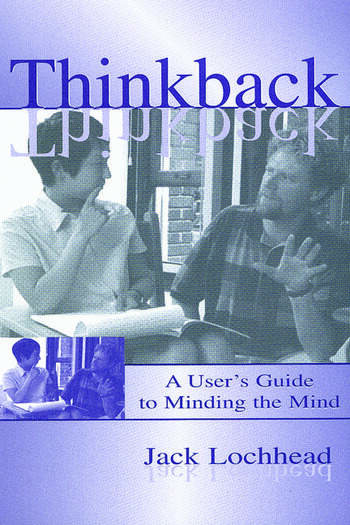 Thinkback A User's Guide to Minding the Mind book cover