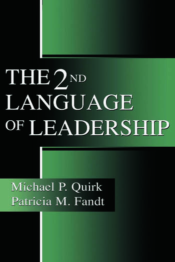 The 2nd Language of Leadership book cover