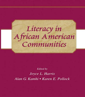 Literacy in African American Communities book cover