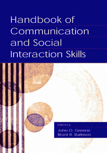 Handbook of Communication and Social Interaction Skills book cover