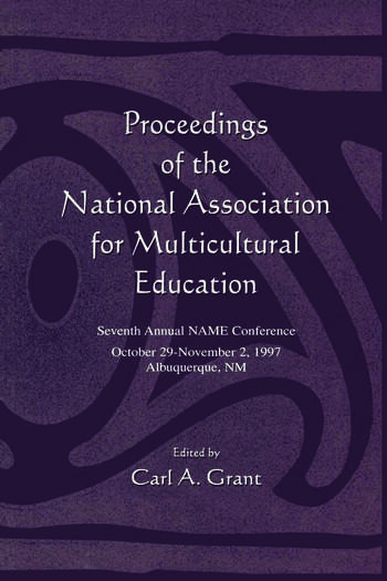 Proceedings of the National Association for Multicultural Education Seventh Annual Name Conference book cover