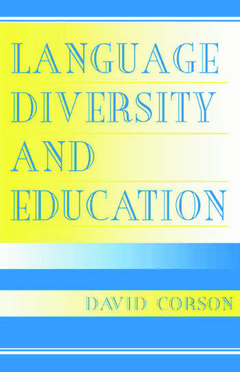 Language Diversity and Education book cover