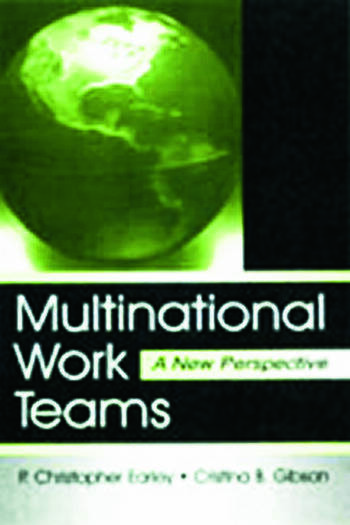 Multinational Work Teams A New Perspective book cover