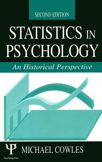 Statistics in Psychology An Historical Perspective book cover