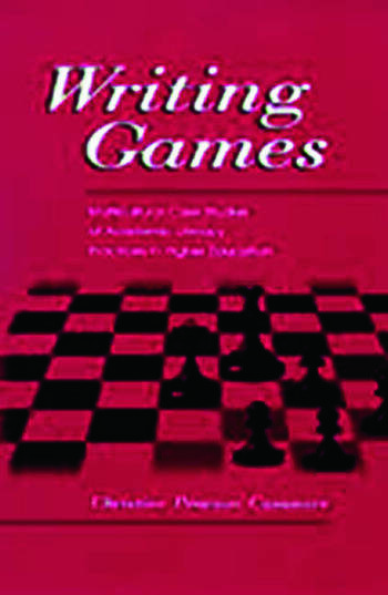 Writing Games Multicultural Case Studies of Academic Literacy Practices in Higher Education book cover