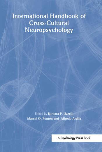 International Handbook of Cross-Cultural Neuropsychology book cover
