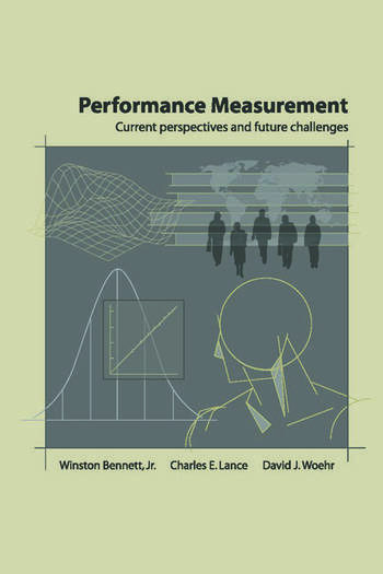 Performance Measurement Current Perspectives and Future Challenges book cover