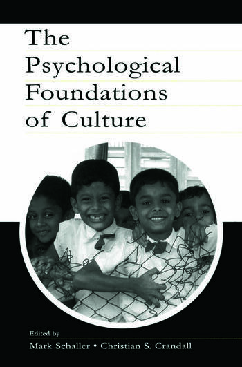 The Psychological Foundations of Culture book cover