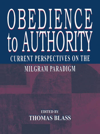 obedience to authority Obedience to authority no human social organization can function without some degree of obedience to authority, as the alternative would be anarchy leading to total chaos.