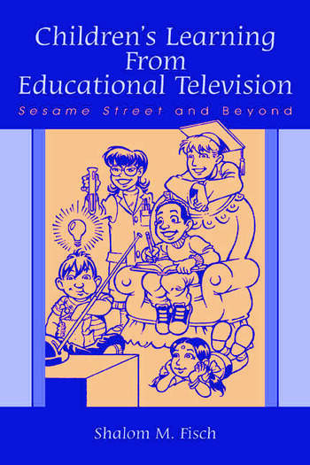 Children's Learning From Educational Television Sesame Street and Beyond book cover