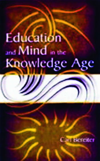 Education and Mind in the Knowledge Age book cover