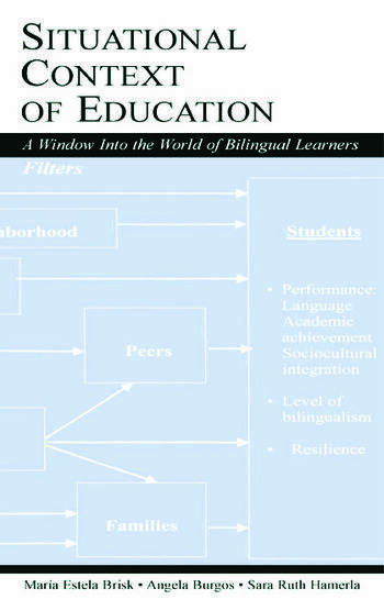 Situational Context of Education A Window Into the World of Bilingual Learners book cover