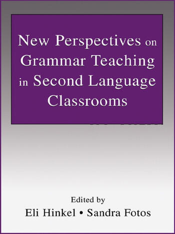 New Perspectives on Grammar Teaching in Second Language Classrooms book cover
